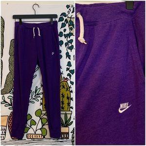 Nike Purple Joggers